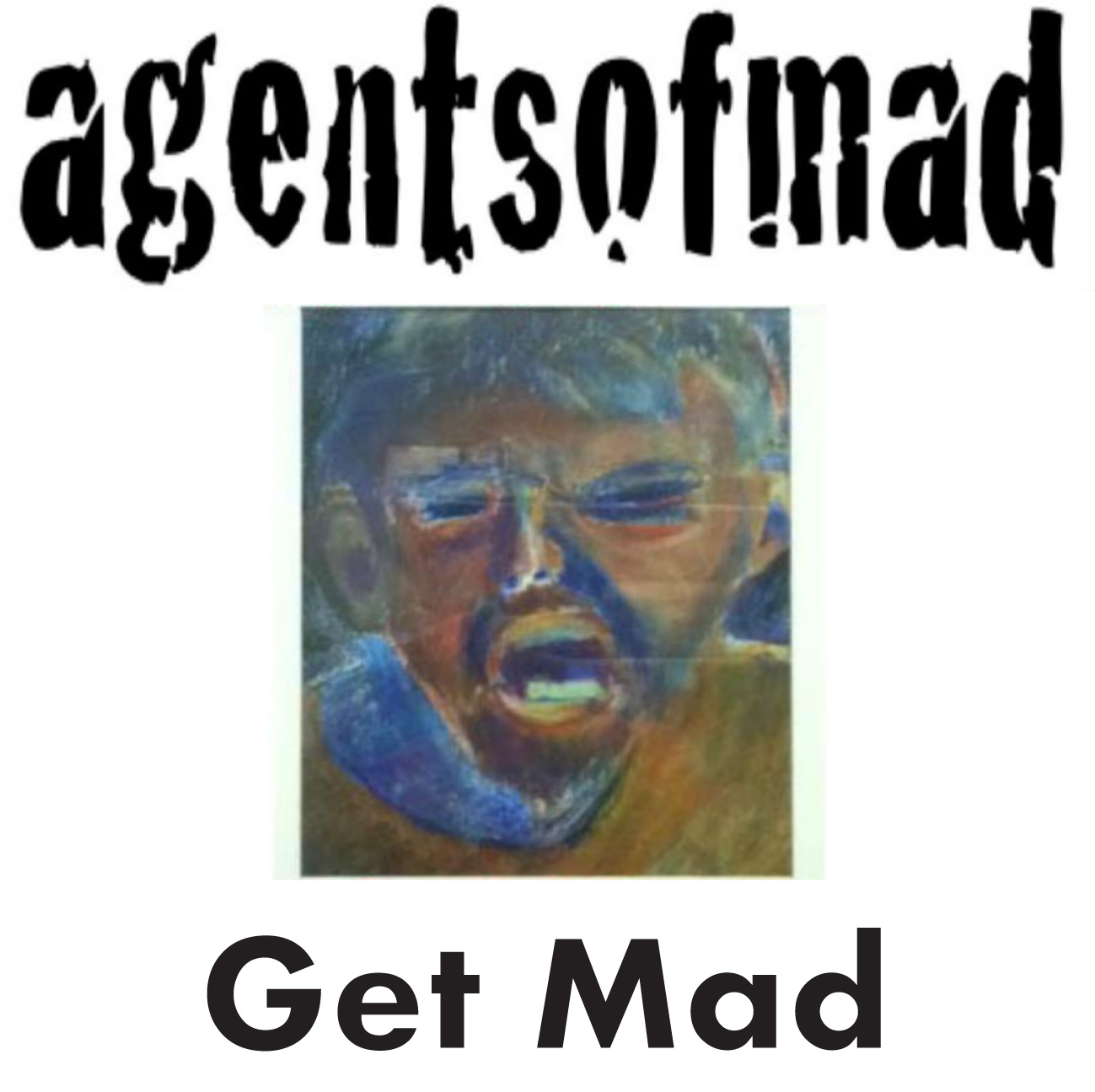 agentsofmad Get Mad EP CD Cover